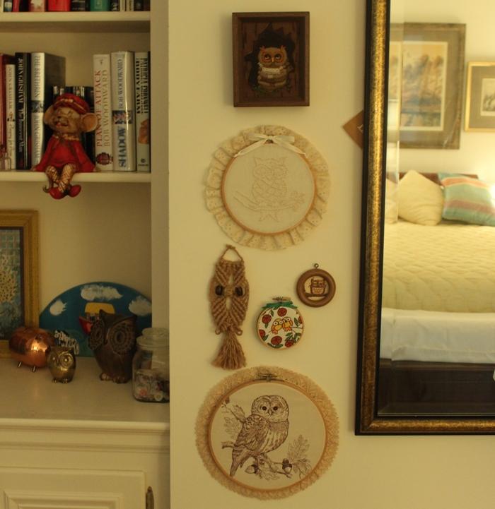 Grandma's Owl Collection