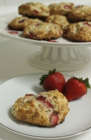 Strawbery Lavender Scones