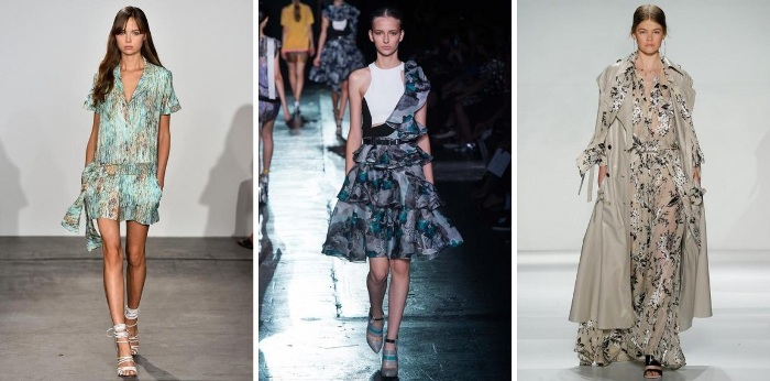 NYFW 2015 Floral Trend