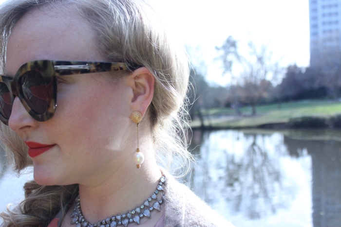 Vintage Earrings and Necklace