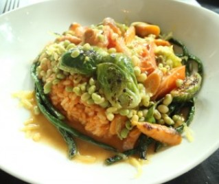 The Livingston Entree Market Vegetable Risotto