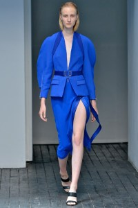 NYFW 2015 Blue Trend Dion Lee
