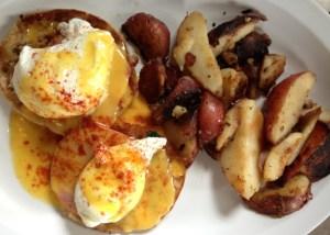 Highland Bakery Classic Eggs Benedict