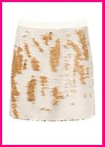 Ted Baker London Joleigh Sequin Mini Skirt