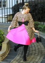 Kate Spade Pink Dress Valentino Leopard