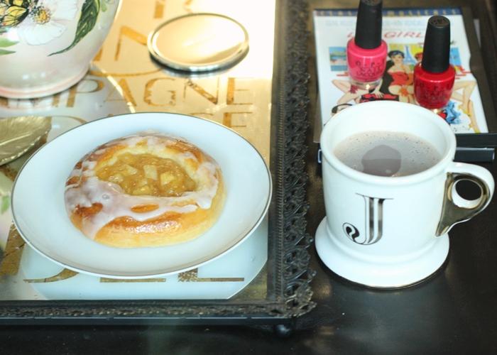 Apple Danish Hot Chocolate