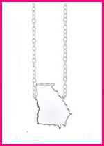 Personalized State Necklace