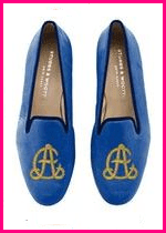 Stubbs and Wootton Monogram Slippers