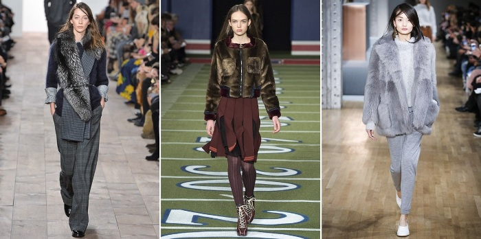 NYFW Autumn Winter Fall 2015 Fur Trend