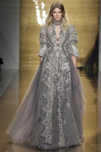 NYFW Autumn Winter Fall 2015 Lace Trend Reem Acra