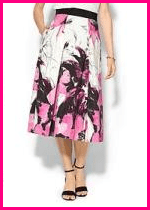 Milly Winter Orchid Skirt