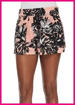 Rebecca Taylor Splashy Print Shorts