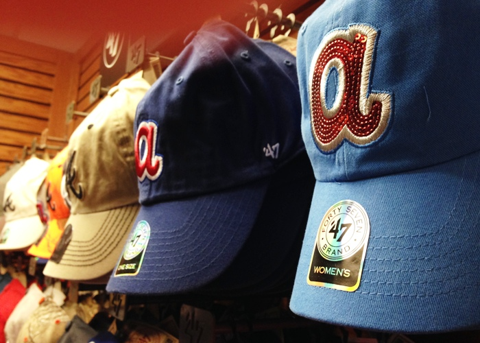 Sequin Atlanta Braves Hat
