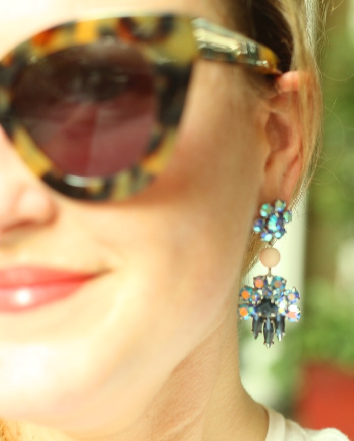 JCrew Mardi Gras Earrings