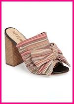 Summer 2017 Fashion Slide Mule Sandals Sam Edelman Yumi Bow Mule