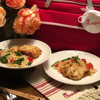 Chick-fil-A Meal Kits Chicken Parmesan Delivery Atlanta