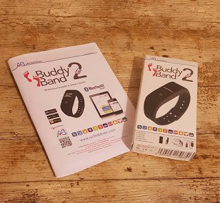 Activ8rlives Buddy Band 2 – A Review