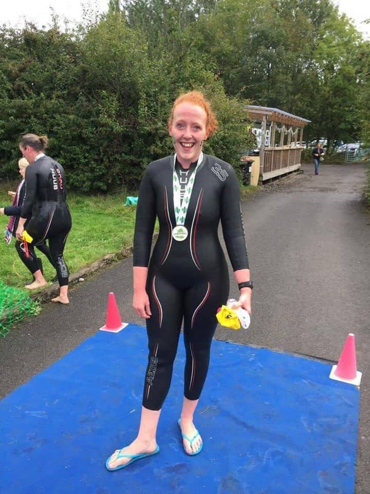Could you do a Triathlon? Tori says Yes!