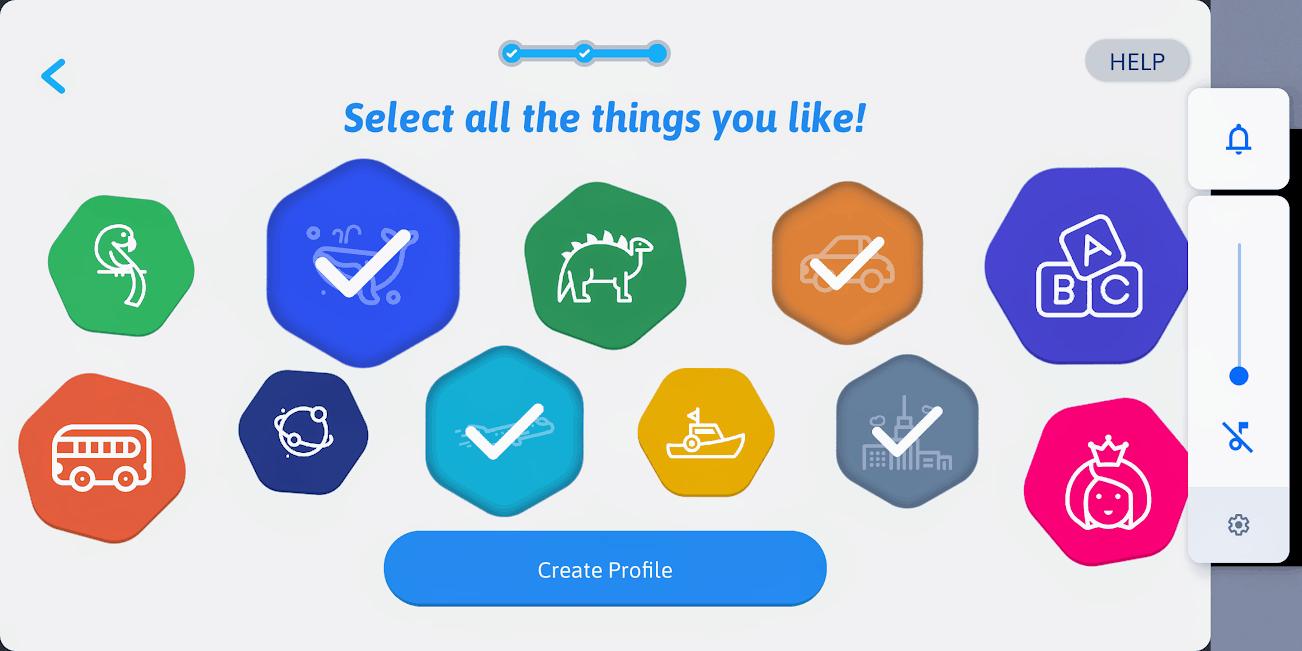 screenshot of smartsketcher app
