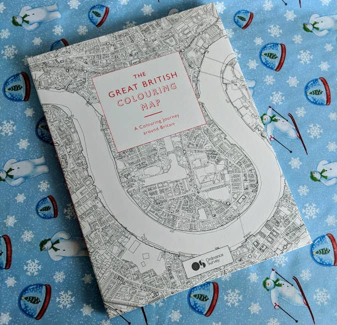 Ordnancce survery colouring book