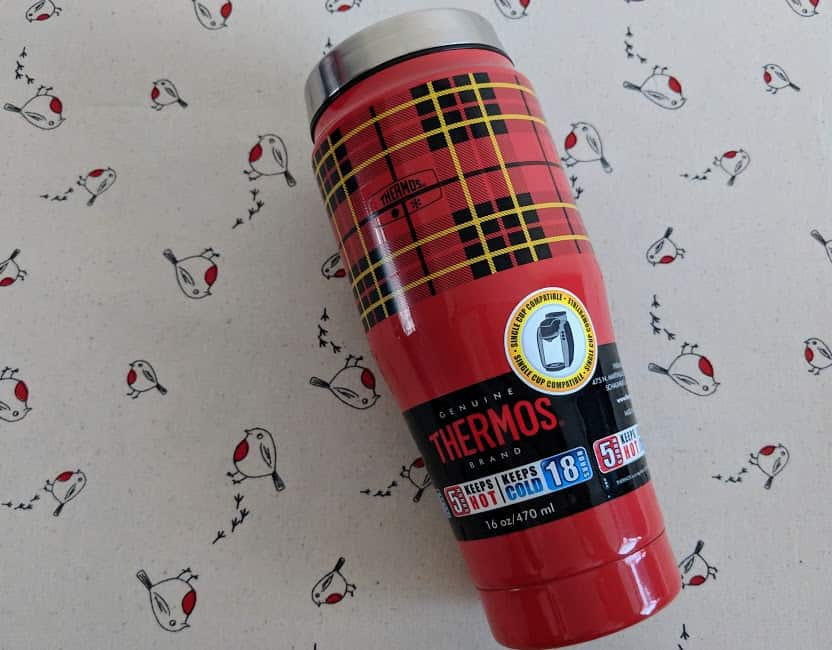 thermos flask cup