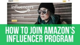 HOW TO BECOME AN AMAZON INFLUENCER?