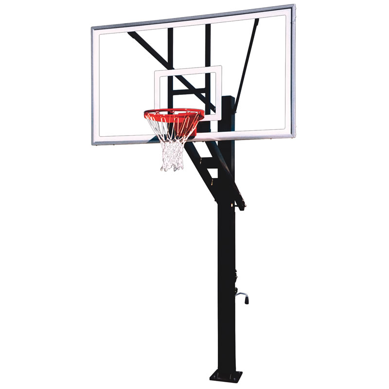 First Team Stainless Steel Olympian Arena Basketball Goal
