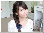 Side Lace Braid Hairstyle