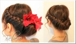 Lace Braid Updo by Bebexo