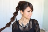 Bubble Ponytail Hairstyle by Bebexo
