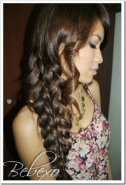 mermaid tail braid hairstyle