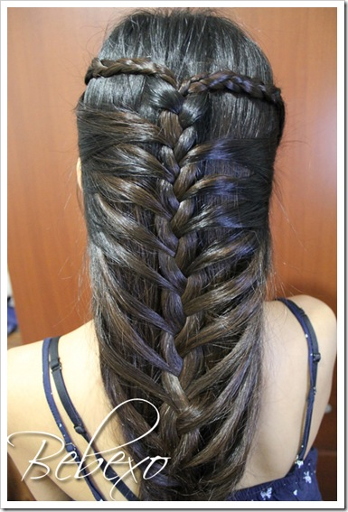 Mermaid French Braid Hairstyle · Bebexo Lifestyle & Beauty ...