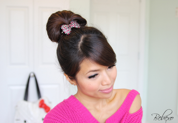 Perfect Fan Bun Updo