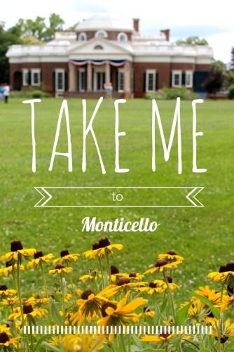 take me to monticello