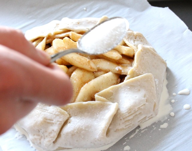 Rustic Spiced Pear Galette 9 | justbeeblog.com