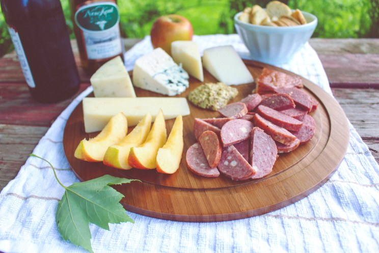 charcuterie meat cheese board 2
