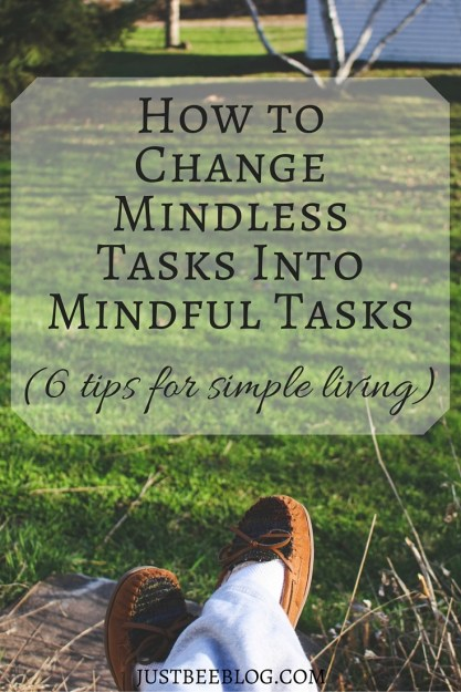 6 Tips For Simple Living - Just Bee Blog