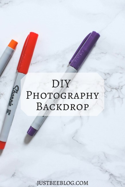 DIY Marble or Other Pattern Photography Backdrop - Just Bee