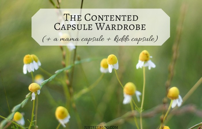 The Contented Capsule: Capsule Wardrobes for the Rest of Us