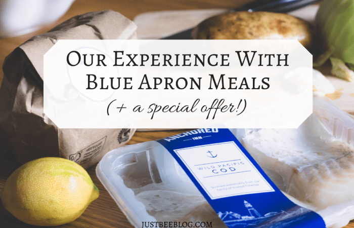 Our Experience With Blue Apron (+ 3 free meals for you!)