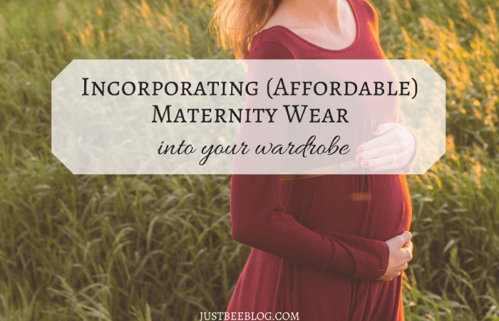Incorporating (Affordable) Maternity Wear Into Your Wardrobe