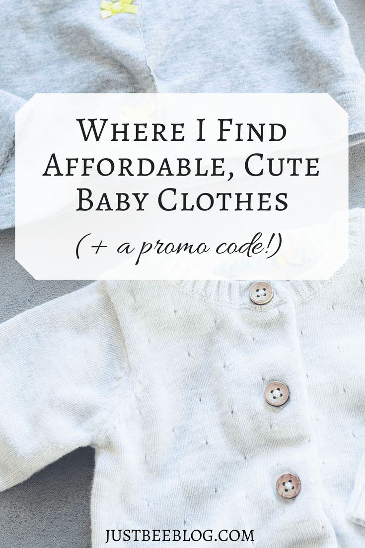 Where I Find Affordable Cute Baby Clothes A Promo Code