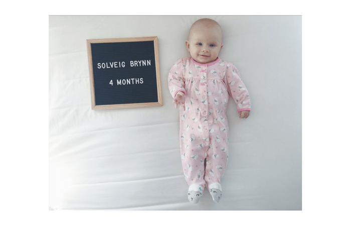 Sophie's 4 Month Update