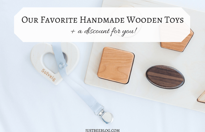 Our Favorite Handmade Wooden Toys (+ a discount for you!)