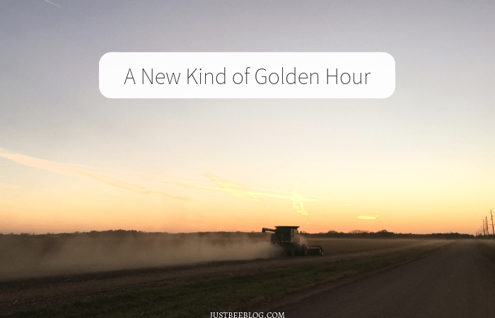 A New Kind of Golden Hour