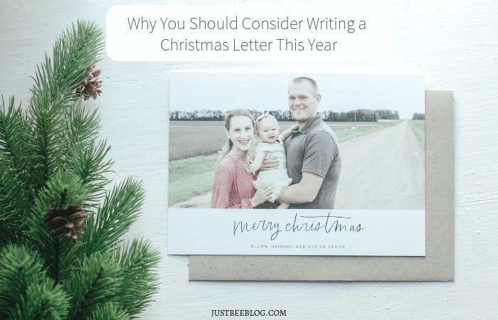 Why You Should Consider Writing a Christmas Letter This Year