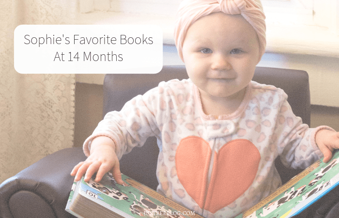 Sophie's Favorite Books At 14 Months