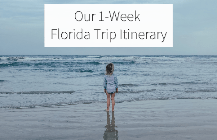Our 1-Week Florida Trip Itinerary