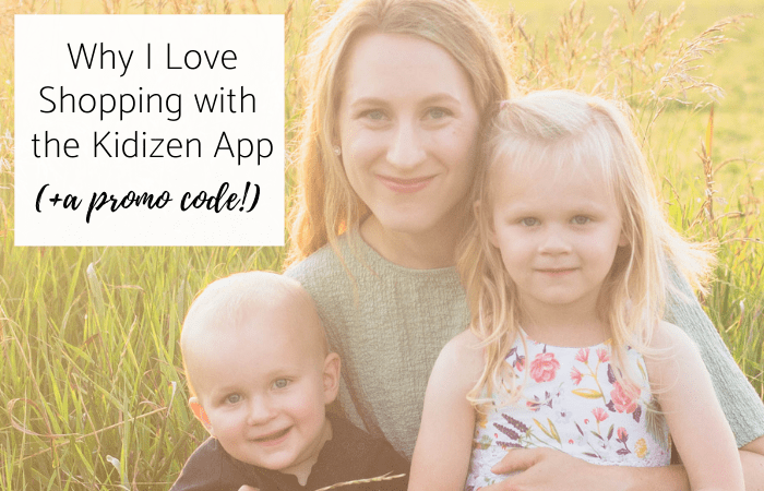 Why I Love Shopping with the Kidizen App (+ a Promo Code for you!)