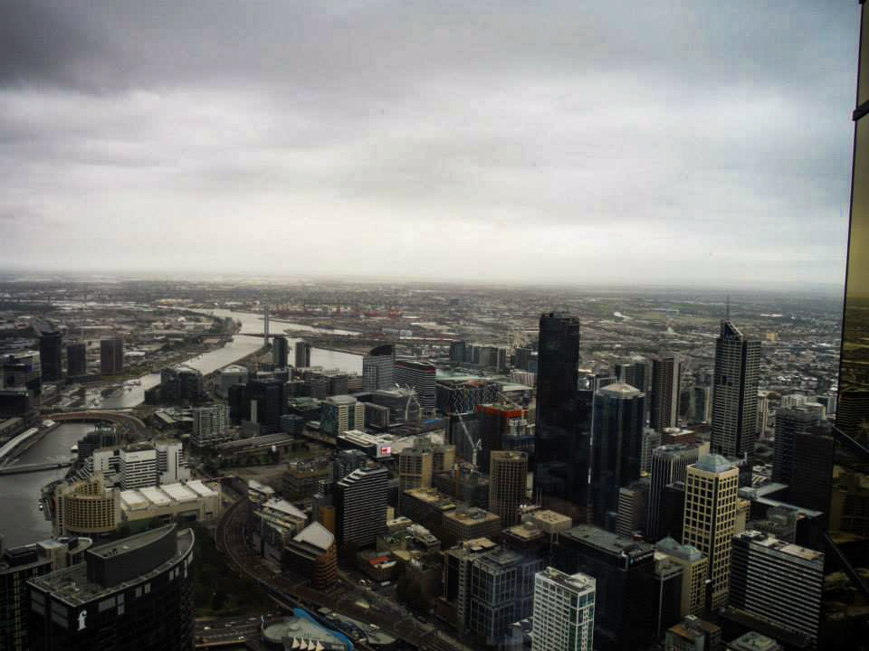 Things To Do In Melbourne. The Eureka Skydeck. A Melbourne photo essay.